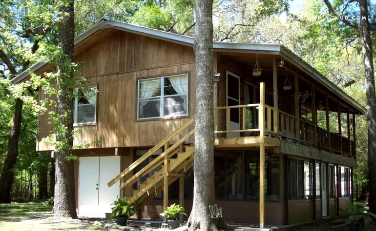 cabin rental near gainesville florida