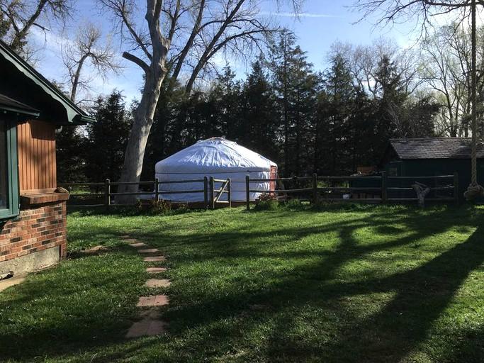 Fine Unique Vacation Rental In A Yurt At A Meditation Retreat Near Boulder Colorado Home Interior And Landscaping Ologienasavecom