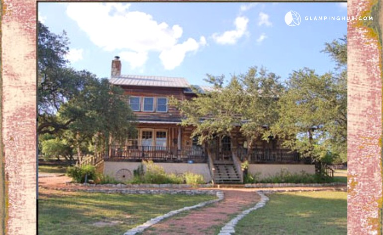 near lodging san austin in rental antonio weddings canyon family hall between country with texas for pin reunions cabins run wow and cottages hill retreats large lake more