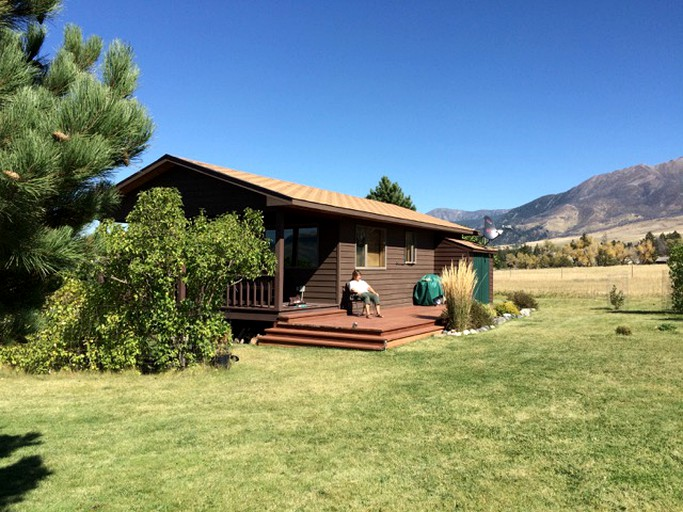 Pet-Friendly, Rural Cabin Rental Close to Yellowstone River near Bozeman,  Montana
