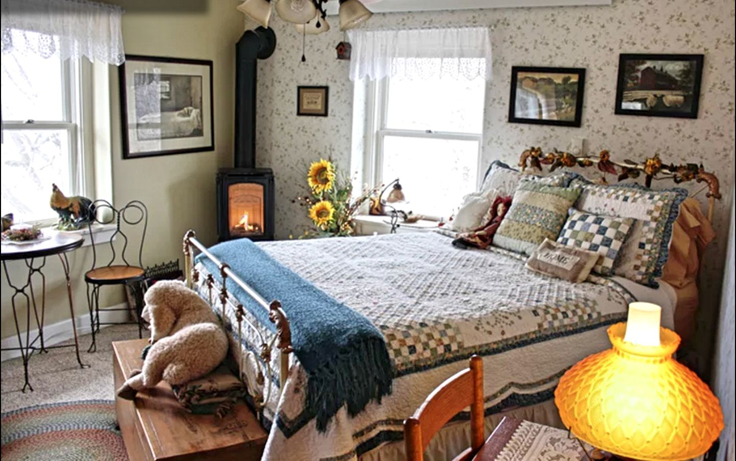 Inside the bed and breakfast, Lincoln perfect for romantic getaways, Nebraska