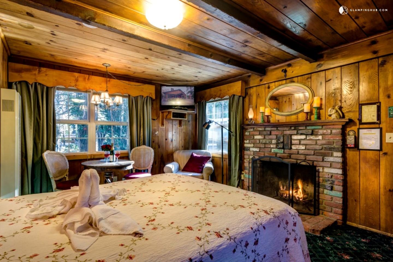 romantic cabin getaway in san bernardino national forest