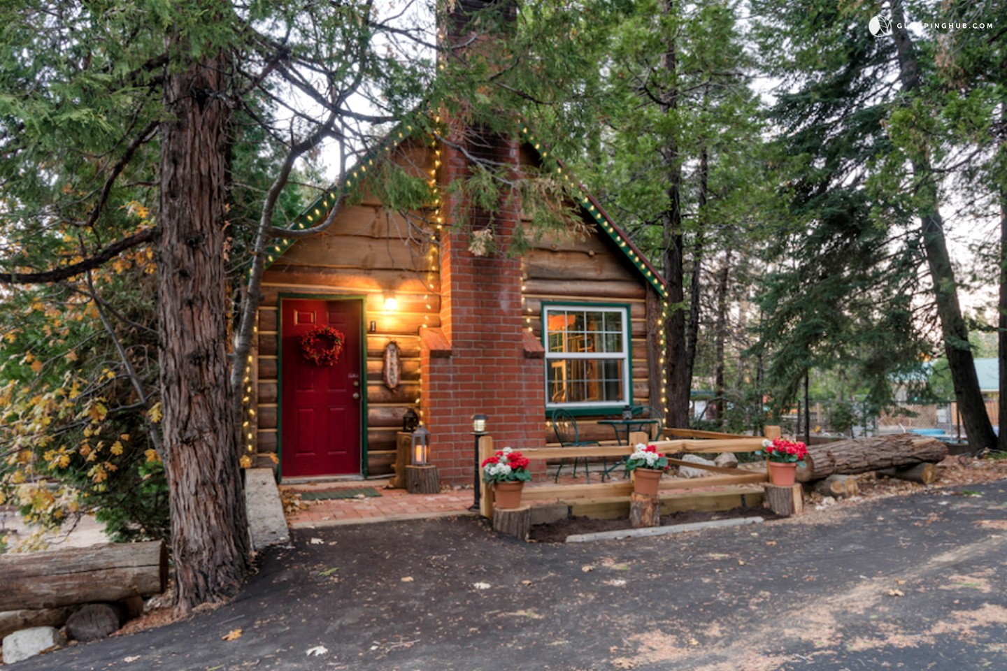 Romantic cabin getaway in san bernardino national forest for Getaway cottage
