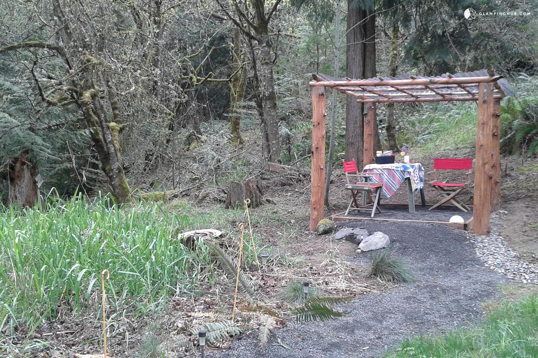 Luxury Tent Rental Near Portland Oregon