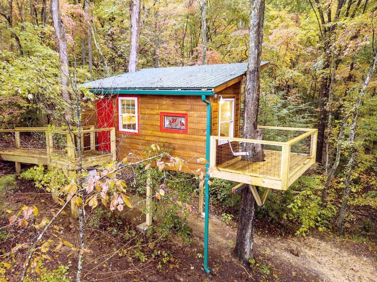 Tree Houses (Copperhill, Tennessee, United States)