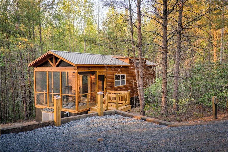 Mountain Cabin Rental With Hot Tub Lake Lure North Carolina