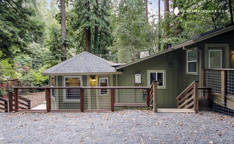 Vacation cabin in guerneville california for Russian river cabins guerneville