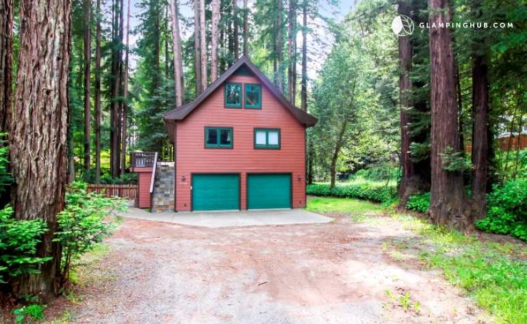 Cabin in monte rio california for Russian river cabins guerneville