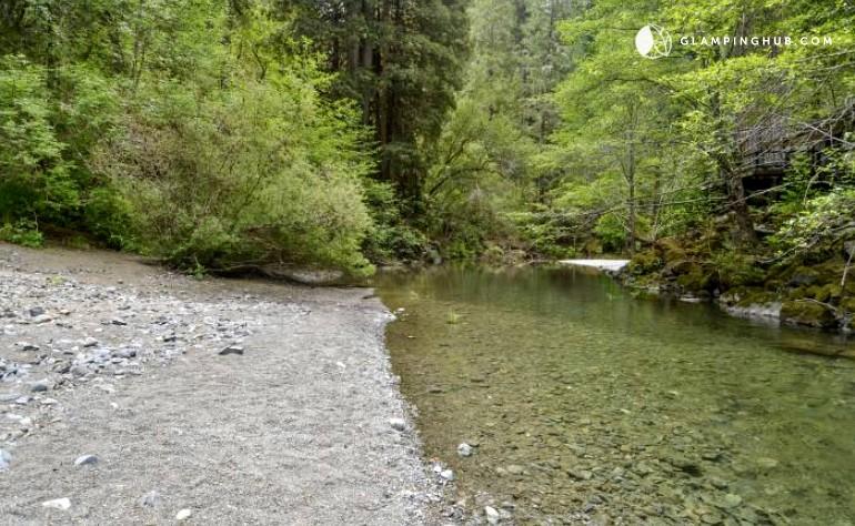 California cabin on austin creek for Russian river cabins