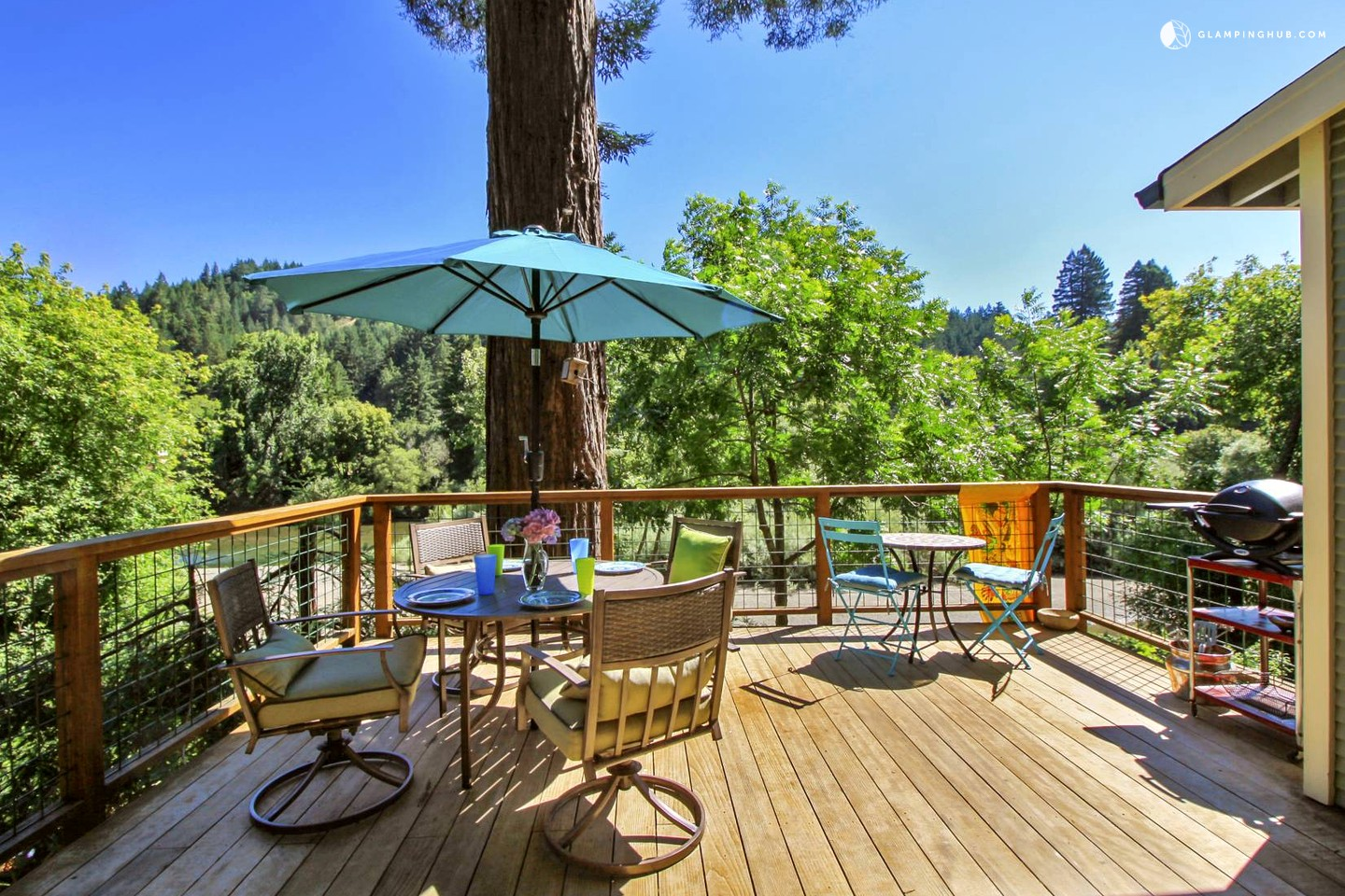 Vacation Cottage Rental On Russian River Northern California