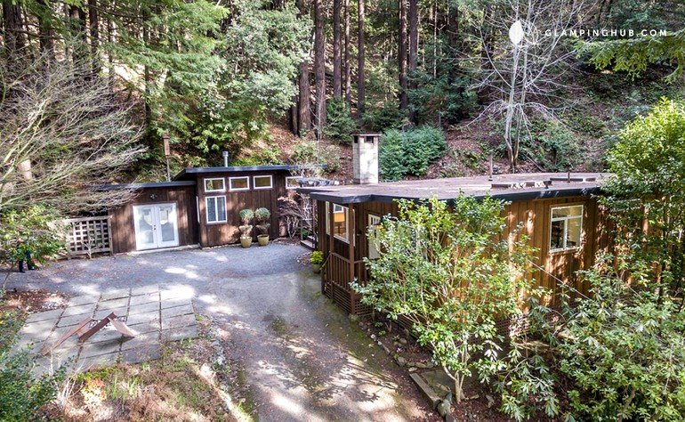 Luxury cabin by the russian river california for Russian river cabins guerneville