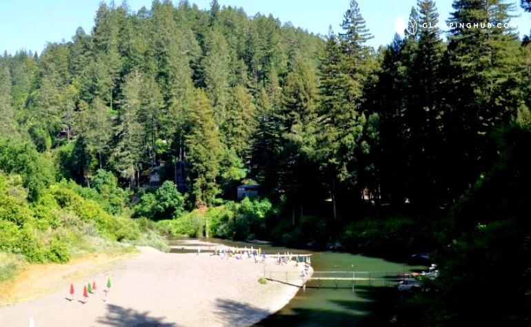 Russian river cabin rental forestville california for Russian river cabins guerneville