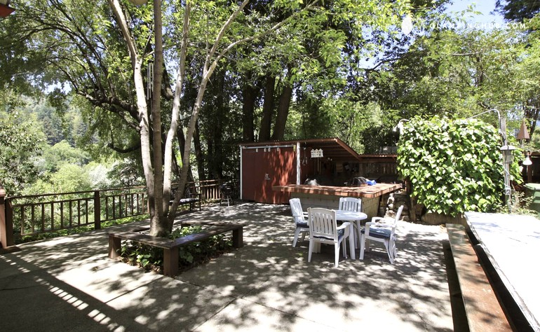 Rental cabin on russian river in guerneville california for Russian river cabins guerneville