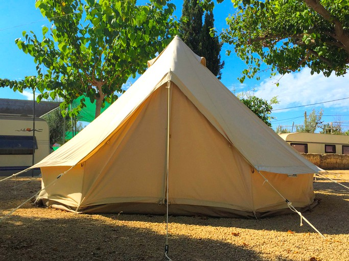 Cozy Tent Rental on a Family-Friendly Campsite in Benidorm, Spain