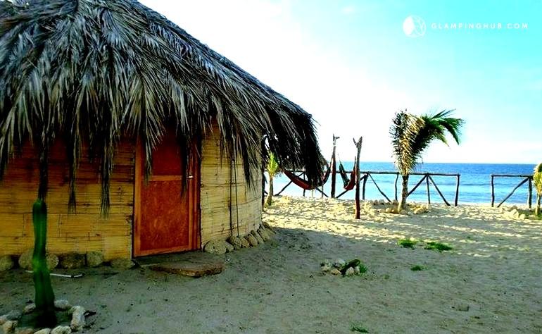 peru beachfront huts glam camping huts peru oceanside cabanas