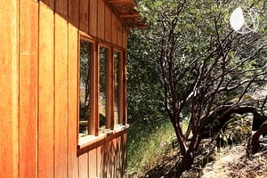 Photo of Rustic Cabin on Famous Old Yosemite Road, California