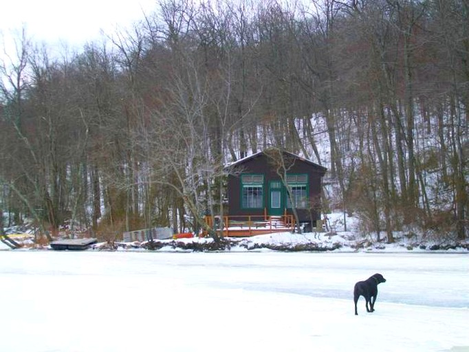 Rustic Camping Cabin Rental On Lake Owassa In Newton New Jersey