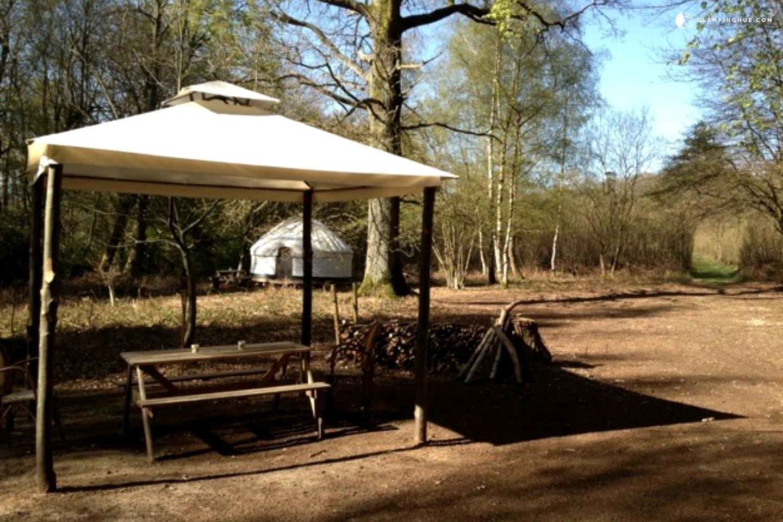 yurt cing in uk
