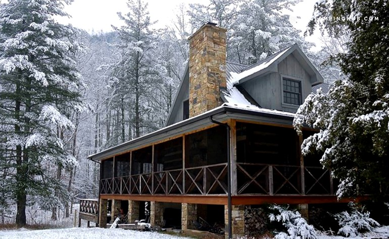 virginia creek national opossum gorge cabin in cabins river park the rentals west new