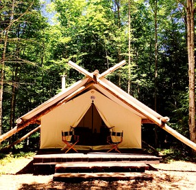 Go Glamping Luxury New York Camping Upstate Ny Vacations