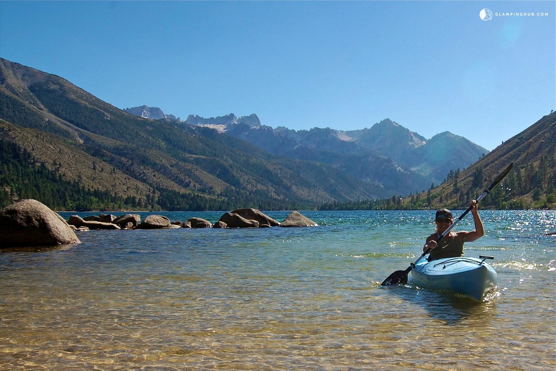Luxury Trailer Rental Near Bridgeport Reservoir California