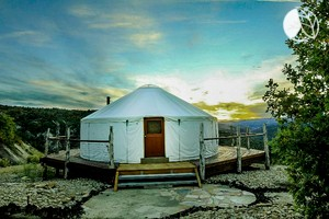 Yurts. Rustic Yurt Rental With Incredible Views Near Zion National Park ...