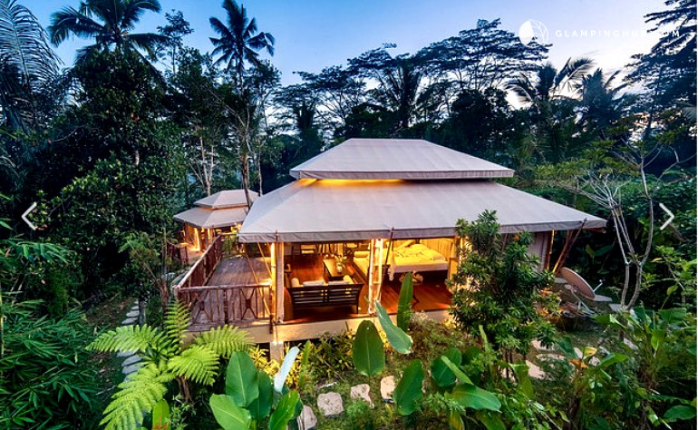 & Eco-Friendly Tent in Bali Indonesia