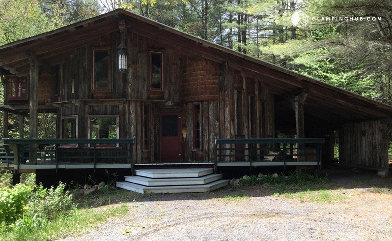 luxury cabin near albany