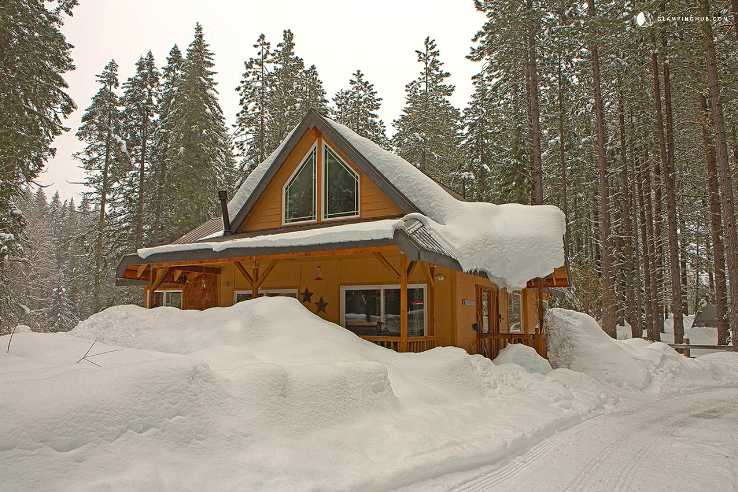Cabin with horse boarding in washington for Leavenworth cabin rentals