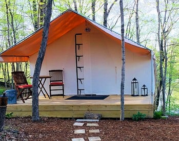Secluded Rentals | Illinois | Glamping Hub