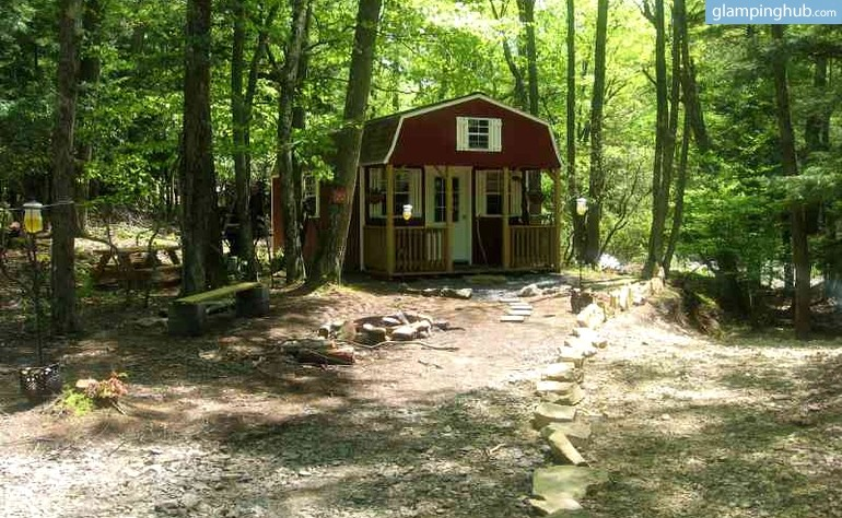 cabin camping in west virginia