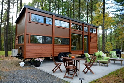 Pet-Friendly Cabins in the Catskill Mountains | Glamping Hub