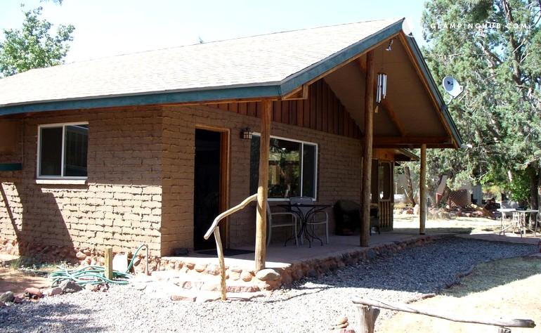 Desert cabin in sedona arizona for Cabin in sedona az