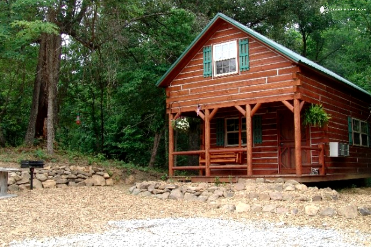Luxury cabins shawnee national forest for 2 story cabin