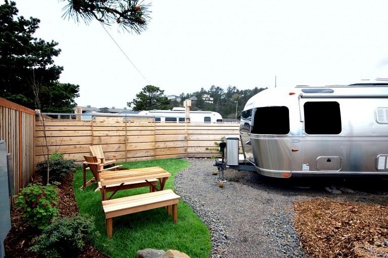 Glamping Airstream Rental Just Minutes from Cape Kiwanda in Coastal Oregon