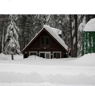Log Cabin Huntington Lake California Sierra Nevada Vacation