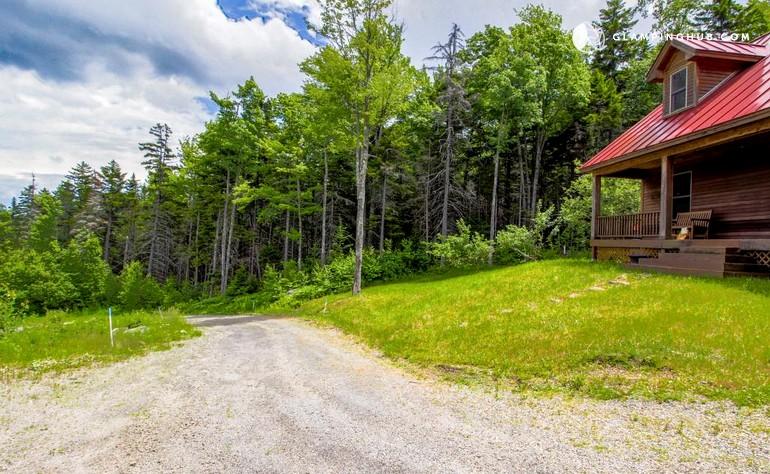 Ski cabin near okemo mountain vermont for Vermont mountain cabins
