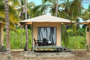 Sleek Eco-Tents Near the Coast and Under Palm Trees in Magdalena, Colombia