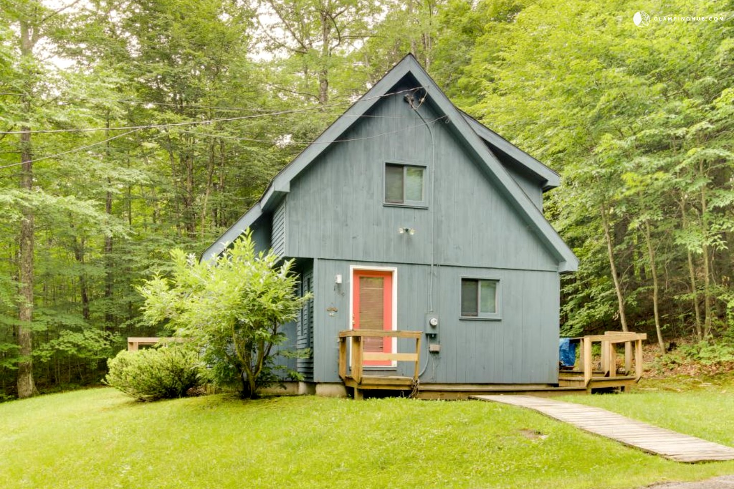 dog friendly cabin in dover vermont