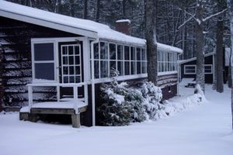 Snug Cabin Rental with Lovely Lake Views near Nicatous Lake, Maine