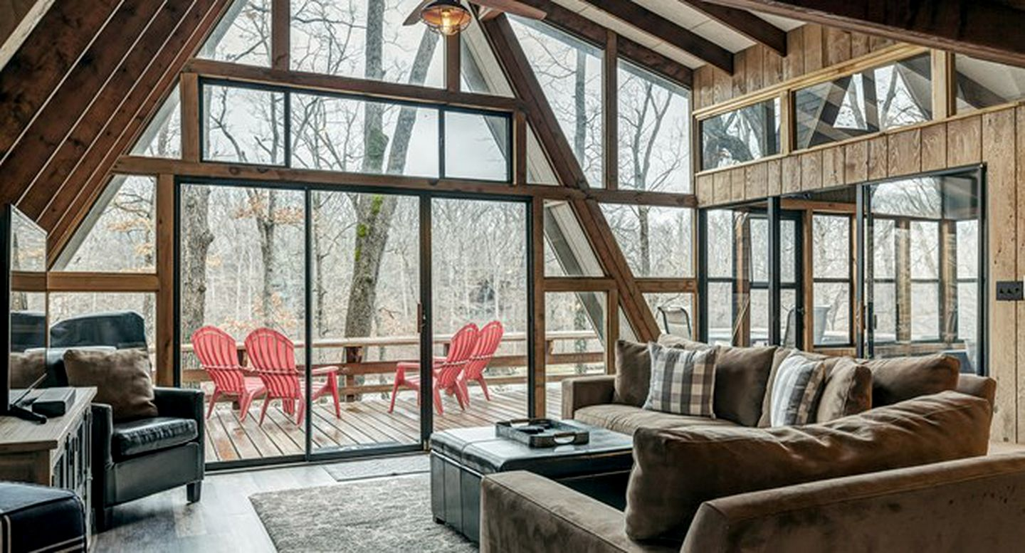 A-Frame Cabins (Innsbrook, Missouri, United States)