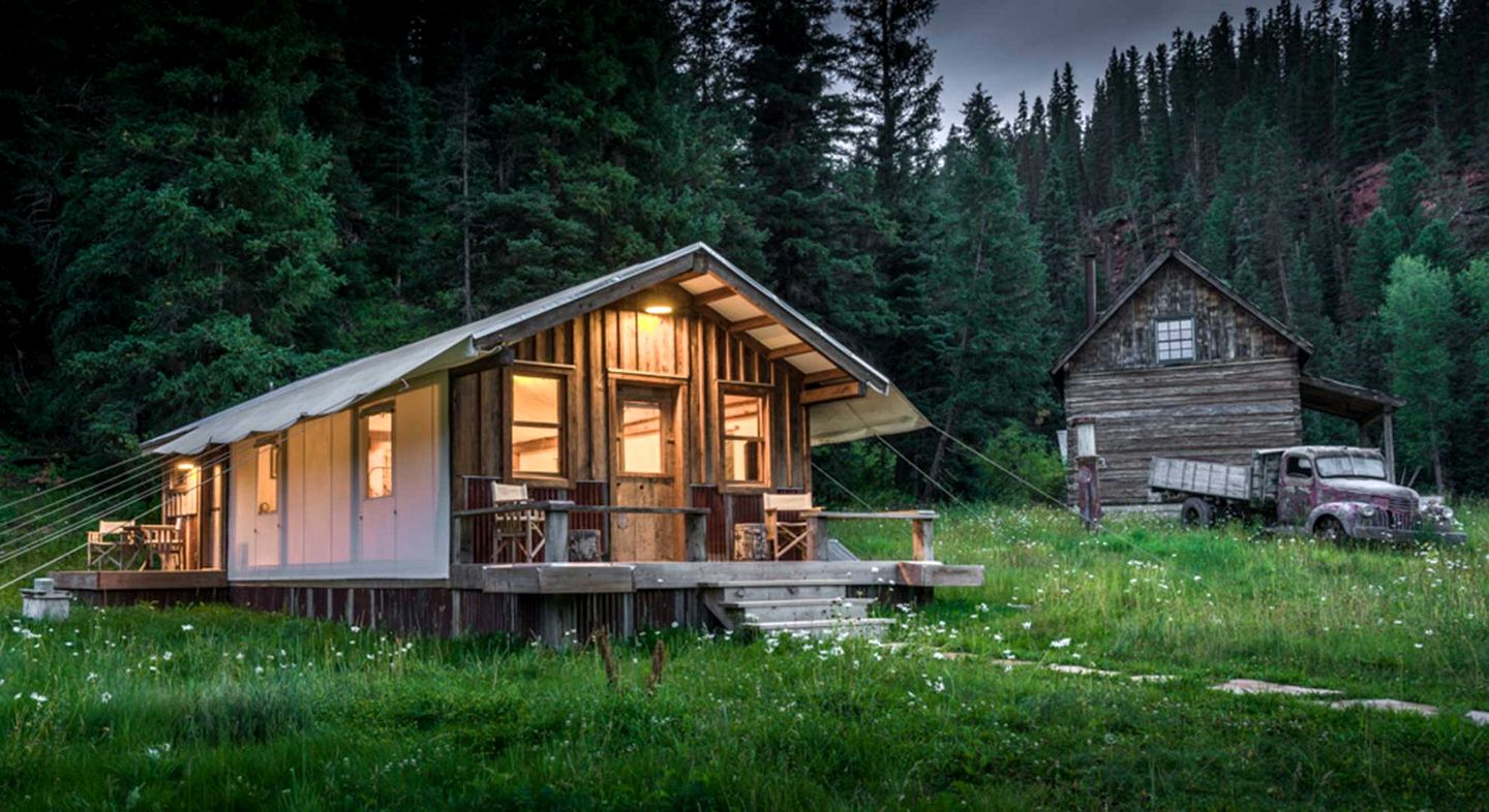 Tented Cabins (Dolores, Colorado, United States)