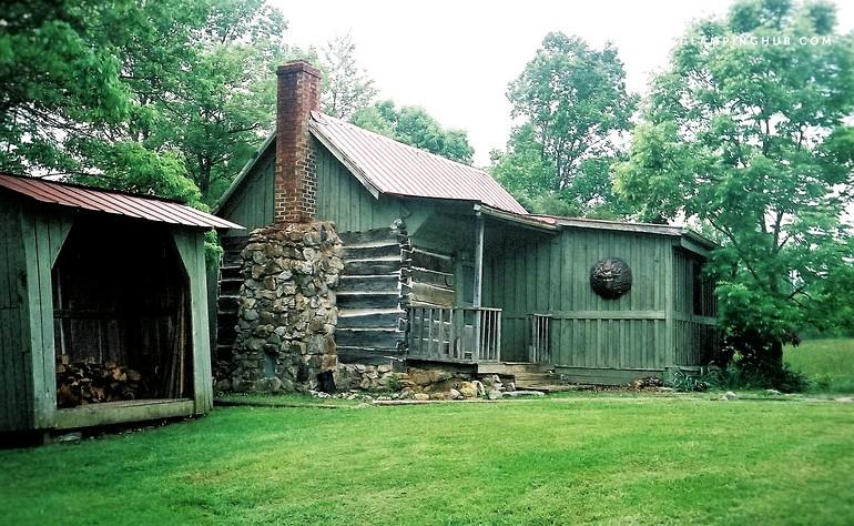 Camping cabin in lexington virginia for Cabin rentals near lexington va