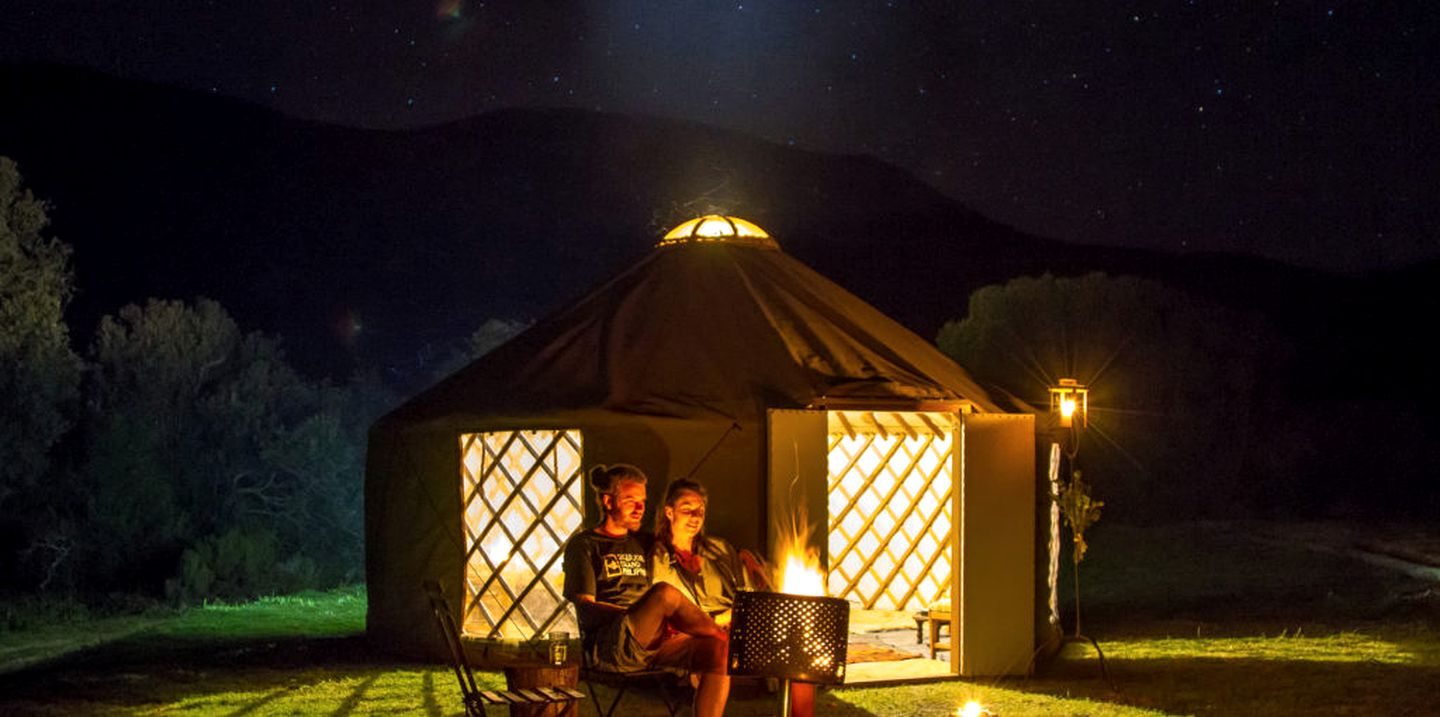 Yurts (Botrivier, Western Cape, South Africa)