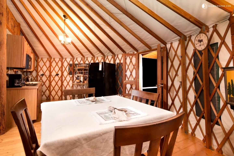 Luxury Yurt Northern California
