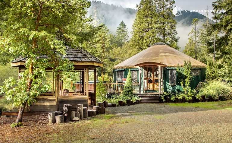 Pet-Friendly Yurt in National Recreation Area, Northern California