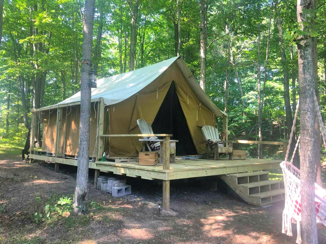 Safari Tents (Rushville, New York, United States)
