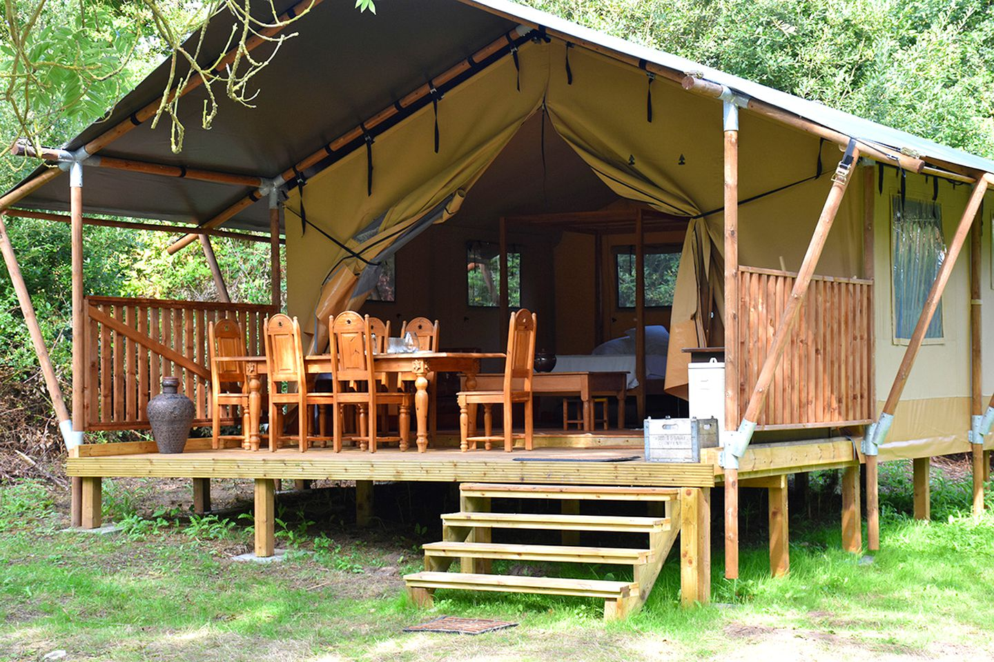 Safari Tents (Norfolk, England, United Kingdom)