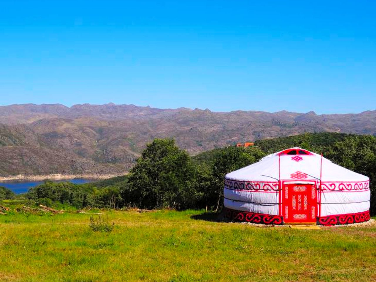 Yurts (Fiães do Rio, Vila Real District, Portugal)