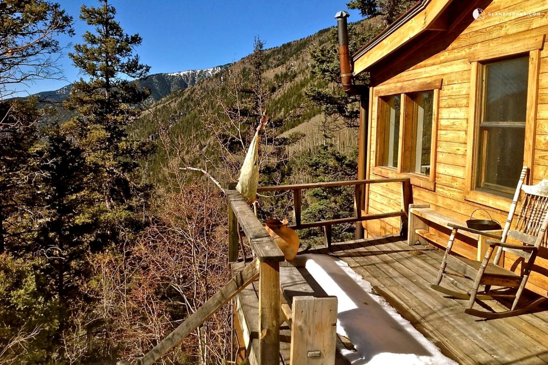 ski cabin in taos new mexico